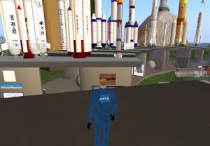 NASA naik roket