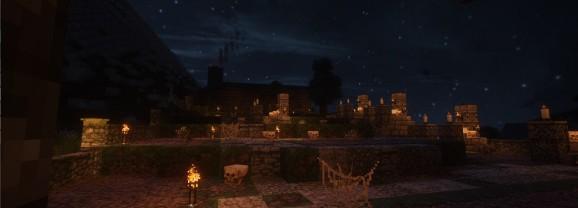Day 202/365: Minecraft Graveyard