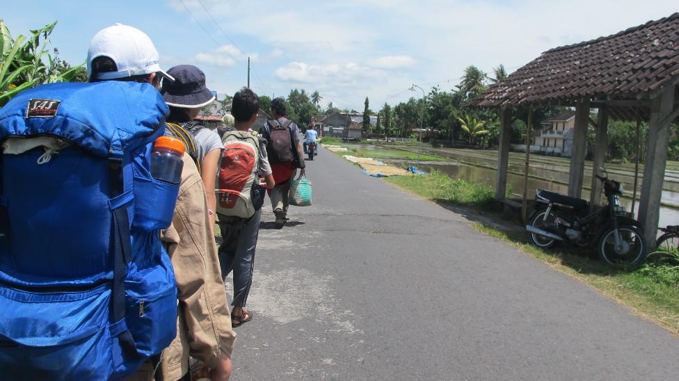 Berjalan menuju Palbapang, Dusun Ngringinan