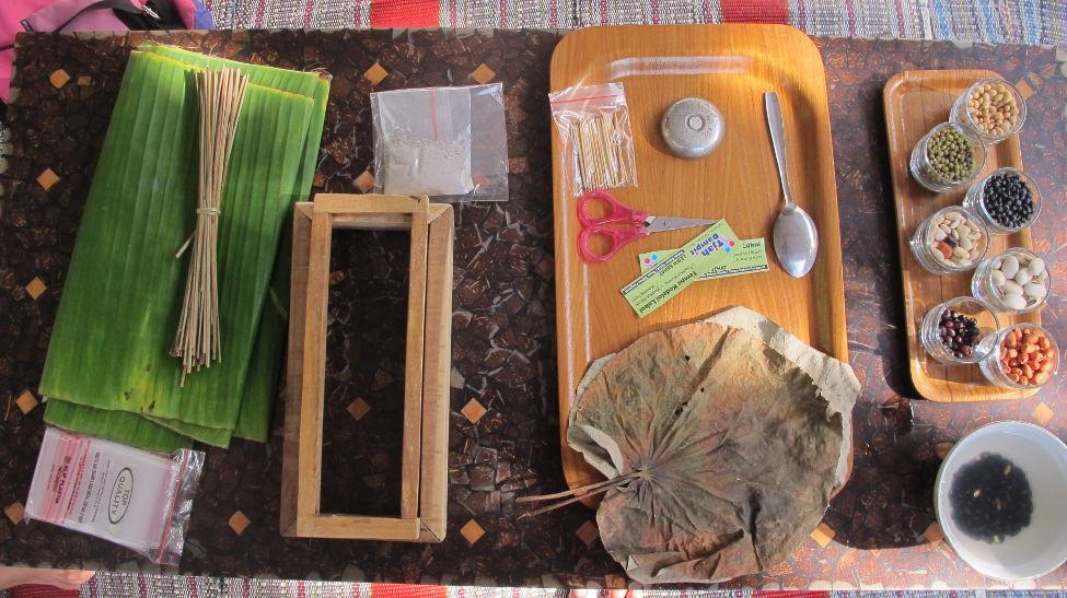 Peralatan dan alat yang dipakai untuk membuat tempe